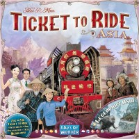 Ticket to Ride Map Collection: Volume 1 - Team Asia & Legendary Asia, Days of Wonder, 2011