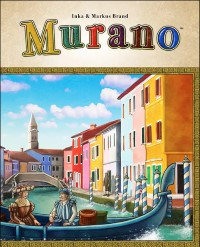 Murano, Mayfair Games, 2014 (image provided by the publisher)