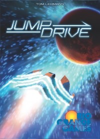 Race for the Galaxy: Jump Drive, Rio Grande Games, 2016 — front cover (image provided by the publisher)