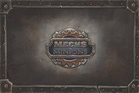 Mechs vs Minions, Riot Games, 2016 — front cover (image provided by the publisher)