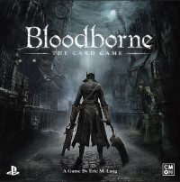 Bloodborne: The Card Game, CMON Limited, 2016 — front cover (image provided by the publisher)