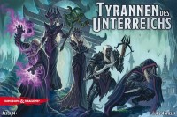 Tyrants of the Underdark Tyrannen des Unterreichs, Heidelberger Spieleverlag, 2016 — front cover (image provided by the publisher)