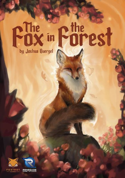 The Fox in the Forest, Foxtrot Games/Renegade Game Studios, 2017 — front cover (image provided by the publisher)