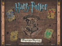 Harry Potter: Hogwarts Battle Harry Potter - Kampf um Hogwarts - Harry Potter: Hogwarts Battle, USAopoly, 2016 — front cover (image provided by the publisher)