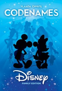 Codenames: Disney, USAopoly, 2017 — front cover (image provided by the publisher)
