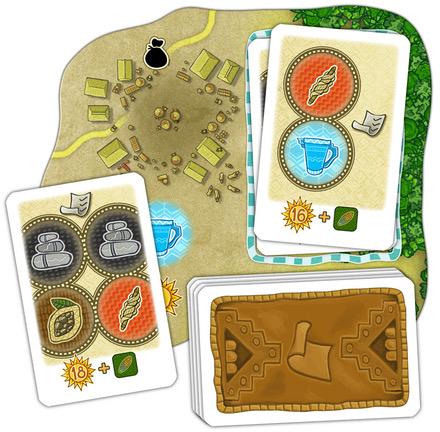 Altiplano Altiplano Ersteindruck - Spielmaterial