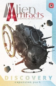 Alien Artifacts: Discovery Alien Artifacts: Die Entdeckung - Alien Artifacts: Discovery, Portal Games, 2018 — front cover