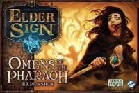 Elder Sign: Omens of the Pharaoh Elder Sign: Omens of the Pharaoh, Fantasy Flight Games, 2018 — front cover (image provided by the publisher)