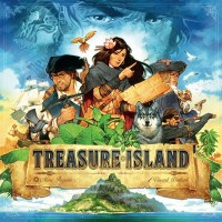 Treasure Island, Matagot, 2018 — front cover (image provided by the publisher)