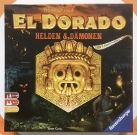 The Quest for El Dorado: Heroes & Demons Wettlauf nach El Dorado: Helden & Dämonen - The Quest for El Dorado: Helden & Dämonen, Ravensburger, 2018