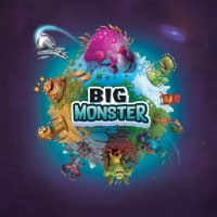 Big Monster, Explor8, 2018 — front cover (image provided by the publisher)
