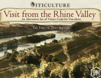 Viticulture: Visit from the Rhine Valley Viticulture: Besuch aus dem Rheingau - Viticulture: Visit from the Rhine Valley, Stonemaier Games, 2018 — front cover (image provided by the publisher)