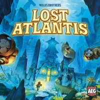 Lost Atlantis, Alderac Entertainment Group, 2018 — front cover (image provided by the publisher)