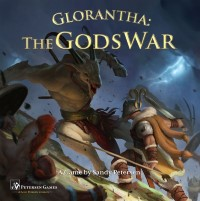 Glorantha: The Gods War, Petersen Games, 2018 — front cover (image provided by the publisher)