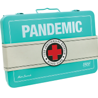 Pandemic Pandemic: 10th Anniversary Edition, Z-Man Games, 2018 — metal carrying case
