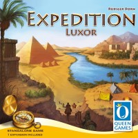 Expedition Luxor Expedition Luxor, Queen Games, 2018 — front cover