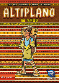 Altiplano: The Traveler Altiplano: Der Reisende - Altiplano: The Traveler, dlp games/Renegade Game Studios, 2018 — front cover (image provided by the publisher)
