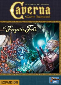Caverna: The Forgotten Folk Caverna: Vergessene Völker - averna: The Forgotten Folk, Lookout Games, 2018 — front cover (image provided by the publisher)