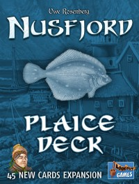 Nusfjord: Plaice Deck Nusfjord - Schollen Deck - Nusfjord: Plaice Deck, Lookout Games, 2018 — front cover (image provided by the publisher)