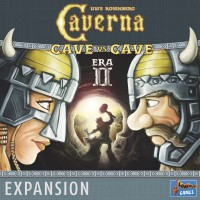Caverna: Cave vs Cave – Era II: The Iron Age Caverna: Höhle gegen Höhle - 2. Epoche: Die Eisenzeit - Caverna: Cave vs Cave – Era II – The Iron Age, Lookout Games, 2018 — front cover (image provided by the publisher)