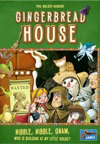 Gingerbread House, Lookout Games, 2018 — front cover (image provided by the publisher)