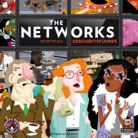 The Networks: Executives The Networks: Geschäftsführer - The Networks: Geschäftsführer, Board&Dice, 2018 — front cover (image provided by the publisher)