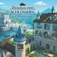 Between Two Castles of Mad King Ludwig Zwischen zwei Schlössern - Zwischen zwei Schlössern, Feuerland Spiele, 2018 — front cover