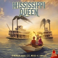 Mississippi Queen, Super Meeple, 2019 — front cover (image provided by the publisher)