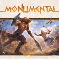 Monumental, Funforge, 2019 — front cover (image provided by the publisher)