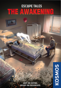 Escape Tales: The Awakening Escape Tales: The Awakening, KOSMOS, 2019 — front cover (image provided by the publisher)