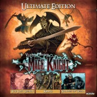 Mage Knight: Ultimate Edition, WizKids, 2018 — front cover (image provided by the publisher)