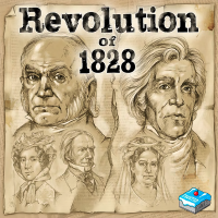 Revolution of 1828 Revolution of 1828 - Revolution of 1828, Frosted Games, 2019 — non-final cover (image provided by the publisher)