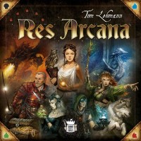 Res Arcana Res Arcana - Res Arcana, Sand Castle Games, 2019 — front cover (image provided by the publisher)