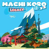 Machi Koro Legacy Machi Koro Legacy - Machi Koro Legacy, Pandasaurus Games, 2019 — front cover (image provided by the publisher)