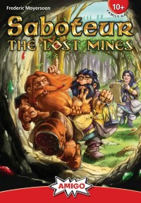 Saboteur: The Lost Mines Saboteur – The Lost Mines - Saboteur: The Lost Mines, AMIGO, 2019 — front cover (image provided by the publisher)
