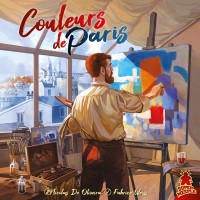 Couleurs de Paris Couleurs de Paris - Couleurs de Paris, Super Meeple, 2019 — front cover (image provided by the publisher)