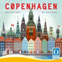 Cøpenhagen Cøpenhagen - Cøpenhagen, Queen Games, 2019 — front cover