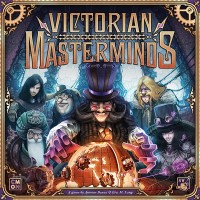 Victorian Masterminds Victorian Masterminds, CMON Limited, 2019 — front cover
