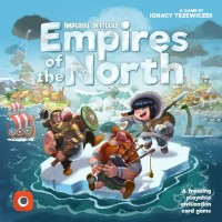 Imperial Settlers: Empires of the North, Portal Games, 2019 — front cover (image provided by the publisher)