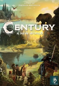 Century: A New World Century: A New World - Century: A New World, Plan B Games, 2019 — front cover (image provided by the publisher)