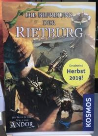 Die Befreiung der Rietburg Die Befreiung der Rietburg - Die Befreiung der Rietburg, KOSMOS, 2019 — promotional poster at Spielwarenmesse 2019