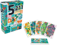 5211, Next Move Games, 2019 — box and sample cards (image provided by the publisher)