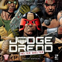 Judge Dredd: Helter Skelter, Osprey Games, 2019 — front cover (image provided by the publisher)