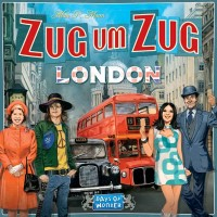 Zug um Zug: London, Days of Wonder, 2019 — front cover, German edition (image provided by the publisher)