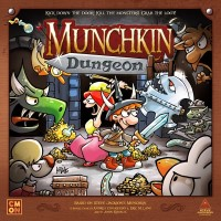 Munchkin Dungeon, CMON Limited/Steve Jackson Games, 2020, — front cover (image provided by the publisher)