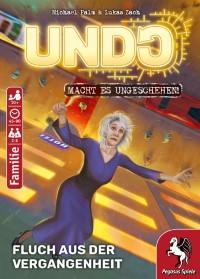 Undo: Fluch aus der Vergangenheit, Pegasus Spiele, 2019 — front cover