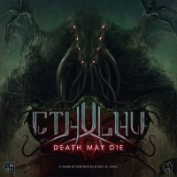 Cthulhu: Death May Die, CMON Limited, 2019 — front cover (image provided by the publisher)