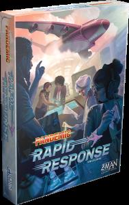 Pandemic: Rapid Response Pandemic - Schnelles Einsatzteam - Pandemic: Rapid Response, Z-Man Games, 2019