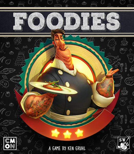 Foodies Foodies - Foodies, CMON Limited/Spaghetti Western Games, 2019 — front cover