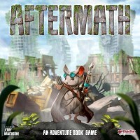 Aftermath, Plaid Hat Games, 2019 — front cover (image provided by the publisher)